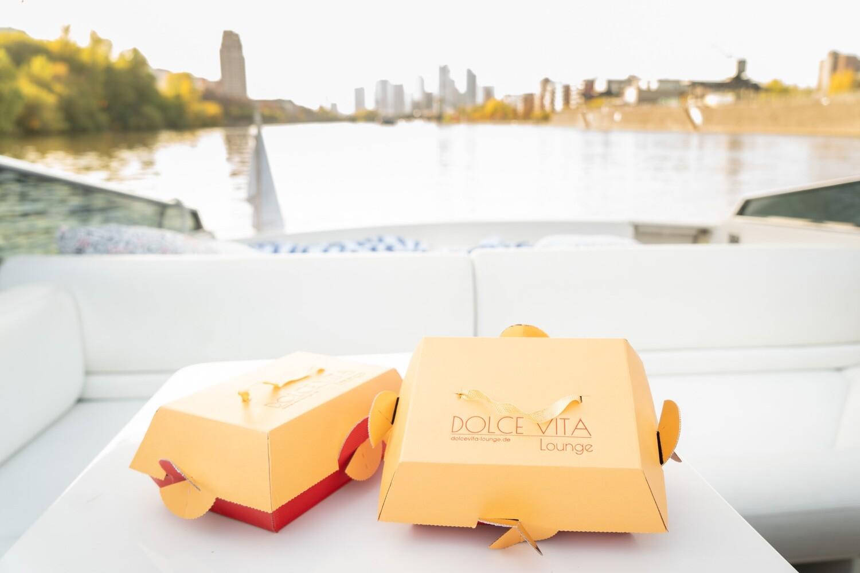River Dream Prosecco Frühstück