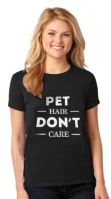 PET HAIR - DON'T CARE T-SHIRT