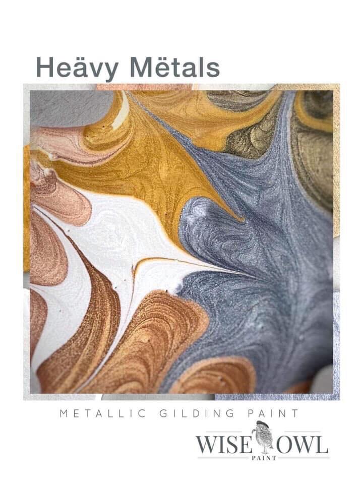 Heavy Metals Metallics 4oz Set Of 6 Colors
