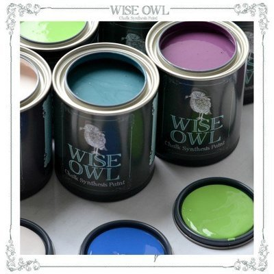 Wise Owl Chalk Synthesis Paint – Pint (16oz)