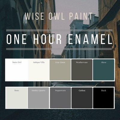 One Hour Enamel Quart