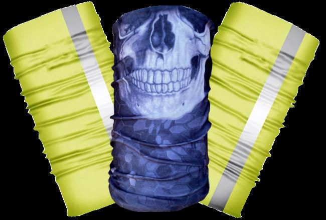 2 Hi-Vis + 1 Skelly Face Shield
