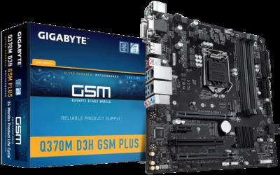 GIGABYTE Q370M D3H GSM Micro ATX Desktop Motherboard