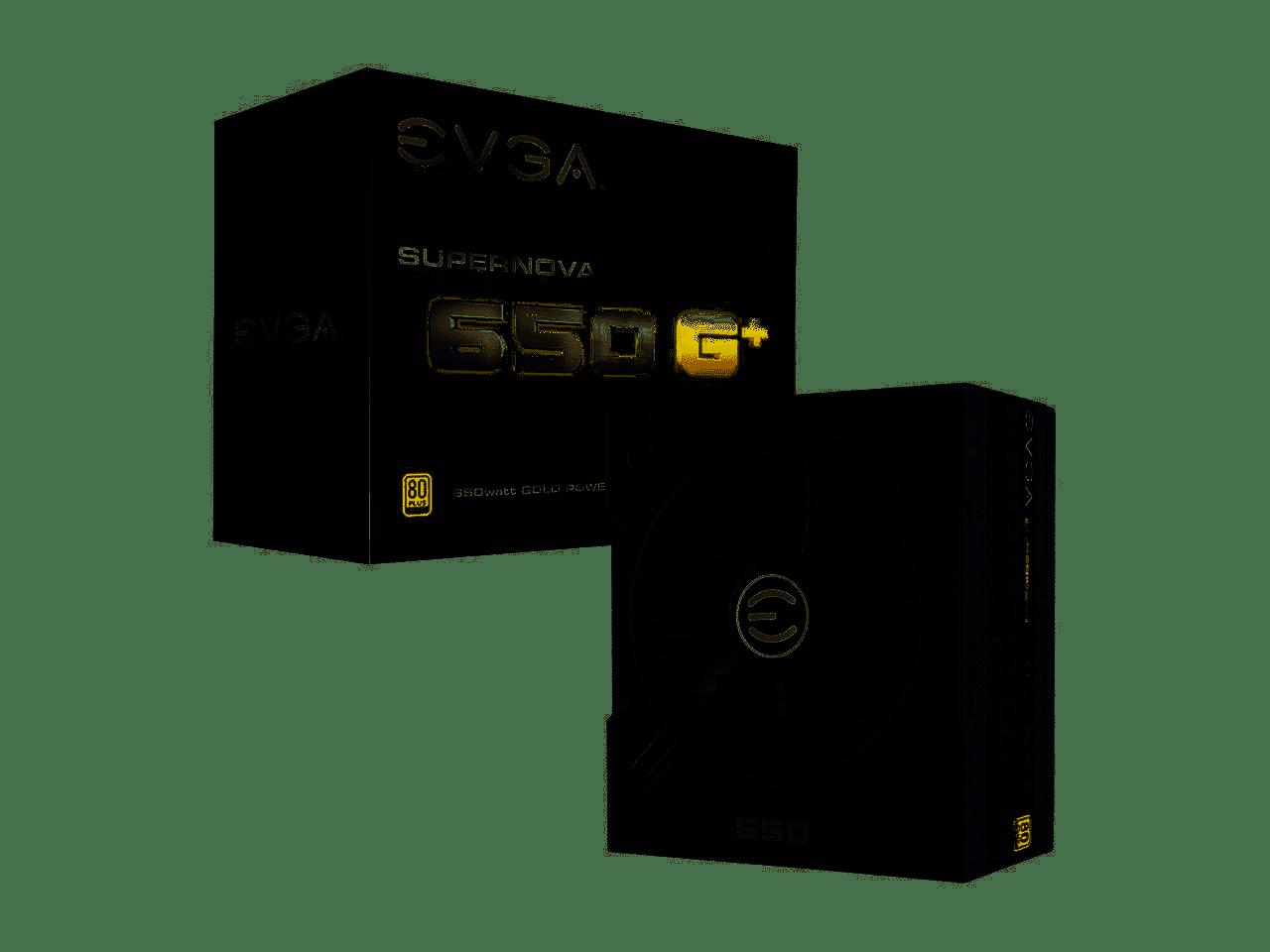 EVGA SuperNOVA 650 GA, 80+ Gold 650W, Fully Modular ATX Power Supply