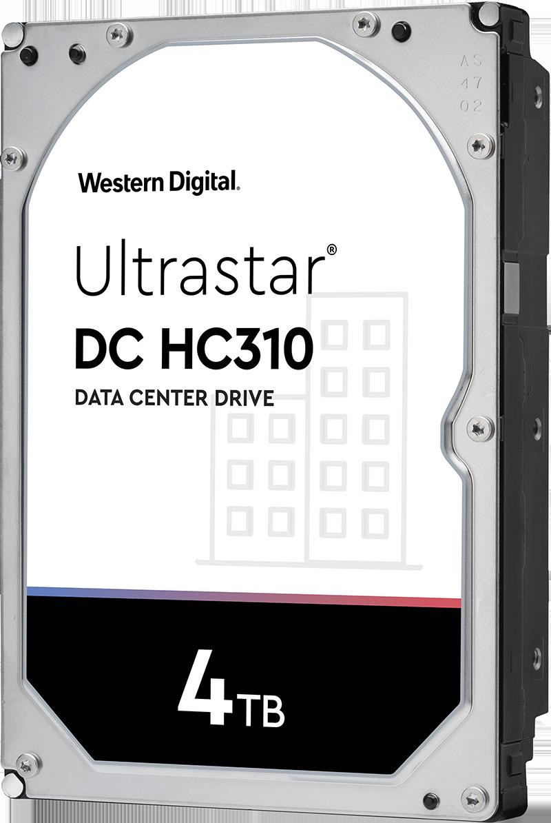 WD Ultrastar DC HC310 4TB 7200RPM SATA 6Gb/s 3.5
