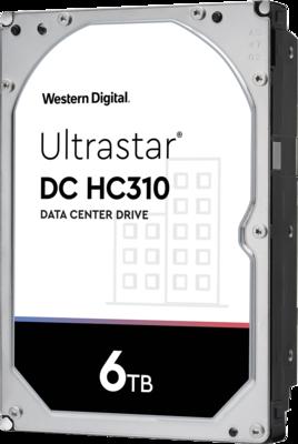 WD Ultrastar DC HC310 6TB 7200RPM SATA 6Gb/s 3.5