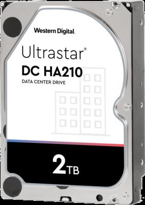 WD Ultrastar DC HA210 2TB 7200RPM SATA 6Gb/s 3.5