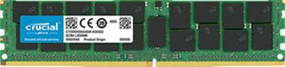 Crucial 64GB DDR4 2666Hz PC4-21300 ECC/REG Load Reduced RAM (1.2V)