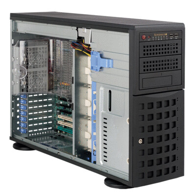 Universal 4U DP Xeon Scalable Processor Rack Convertible Server