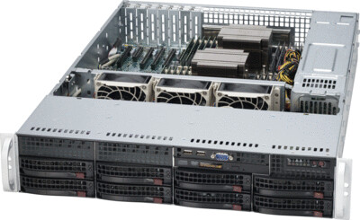 Universal 2U DP Xeon Scalable Processor RackServer