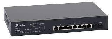 TP-Link JetStream 10-Port Gigabit Smart Switch with 8-Port PoE+