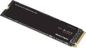 WD Black SN850 500GB PCIe 4.0 m.2 NVMe SSD