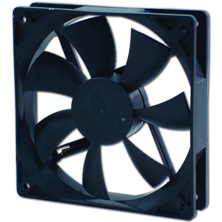Evercool 80X80X25mm DC 12V Ball Bearing Fan with 3 Pin Connector