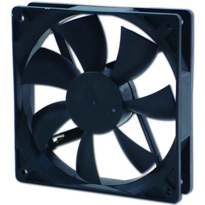 Evercool 90X90X25mm DC 12V Ball Bearing Fan with 3 Pin Connector