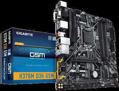 Gigabyte H370M-D3H-GSM microATX Desktop Motherboard