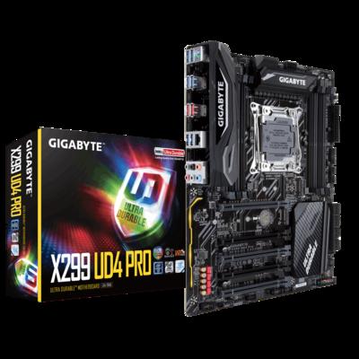 GIGABYTE X299 Pro UD4 Intel Desktop Motherboard