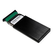 Sabrent EC-UK30 Drive Enclosure External - Black - 1 x 2.5
