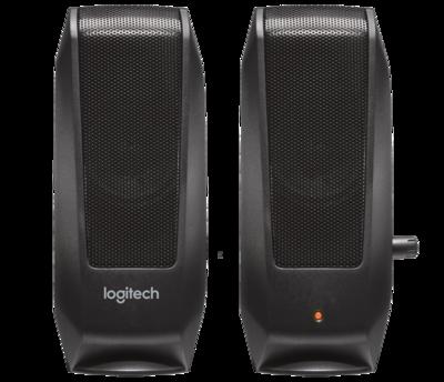Logitech S-120 Speaker, Black