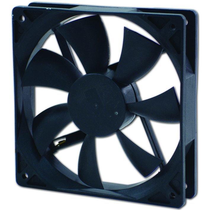 Evercool 90X90X25mm DC 12V Ball Bearing Fan with 3 Pin Connector.. � 2200RPM,31.84CFM,25Dba