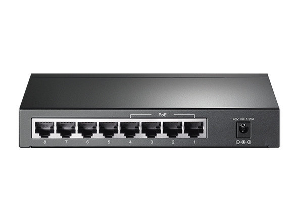 TP-Link 8-Port 10/100/1000Mbps with 4 Ports POE
