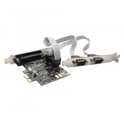 SYBA PCIe 2 Serial/ 1 Parallel Card