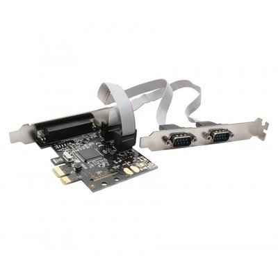 SYBA PCIe 2 Serial/ 1 Parallel Card