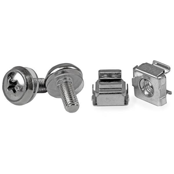StarTech M5 Mounting Screws and Cage Nuts for Server Rack Cabinet (50)