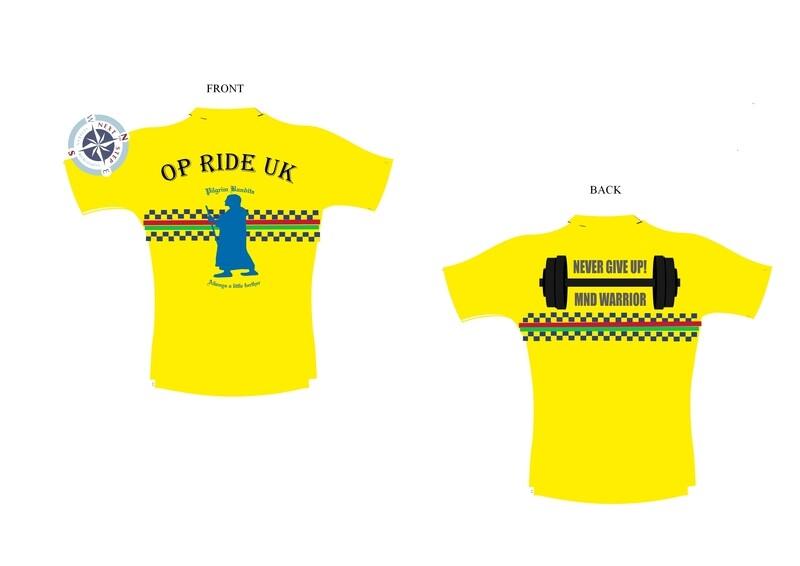Op Ride Cycling support shirt