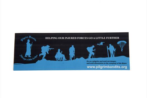 Pilgrim Car Sticker