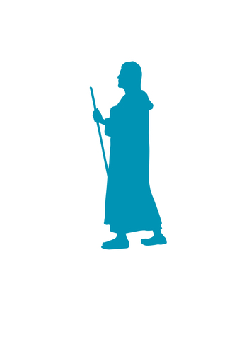 Pilgrim Pin Badge