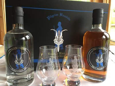 Pilgrims Limited Edition Gin and Whisky