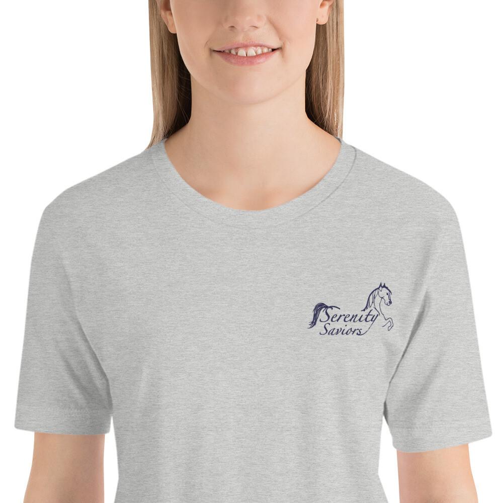 Short-Sleeve Unisex Serenity Saviors Logo T-Shirt