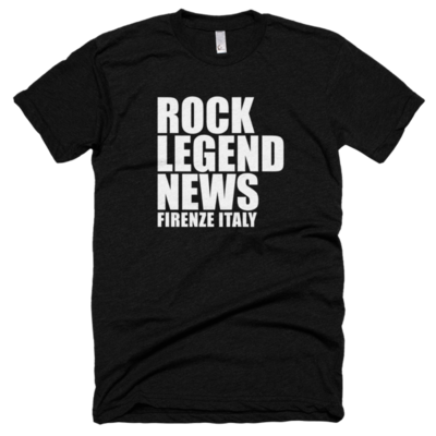 Short Sleeve Rock Legend News T-shirt