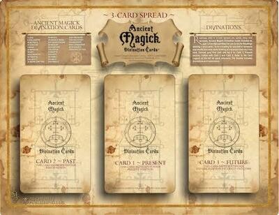 Ancient Magick 3-Card Layout Sheet