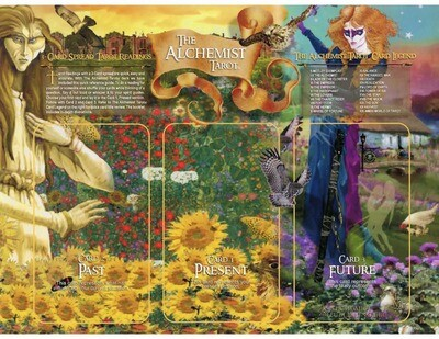 Alchemist Tarot 3-Card Layout Sheet