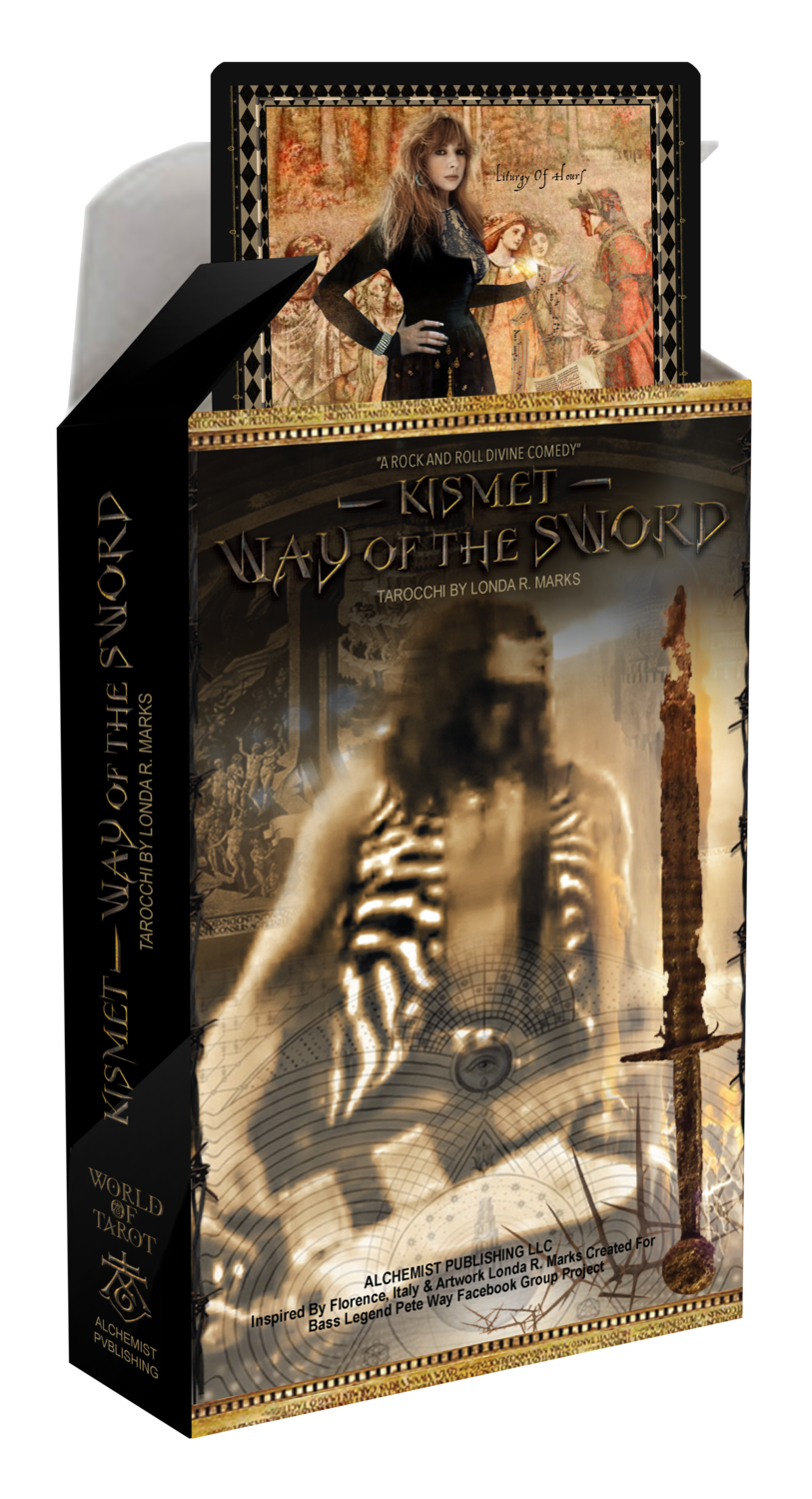 """Kismet, Way Of The Sword"" Tarocchi Major & Minor Arcana Limited Edition Collector Deck"