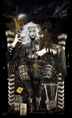 Hierophant, Tarot Print