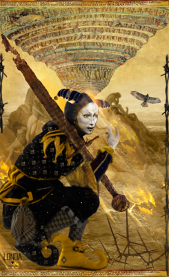 Page Of Swords, Tarot Print