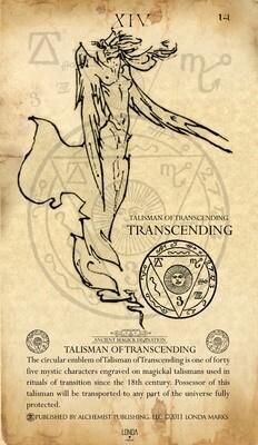 Transcending, Print