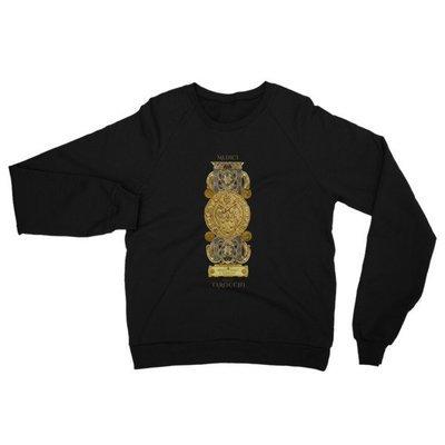 Women's California Fleece Raglan Sweatshirt - Medici Tarot Emblem