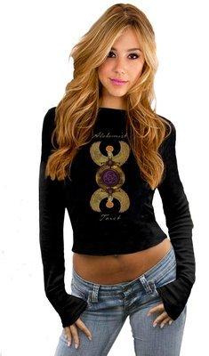 Cropped Sweatshirt - Alchemist Tarot Revealed