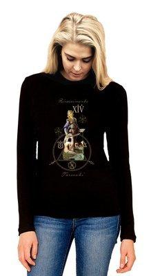 Sweatshirt With Rinascimento Tarocchi XIV Emblem