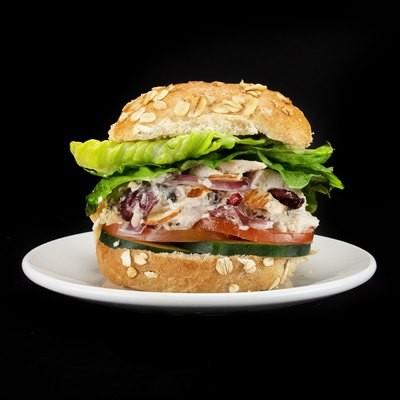 Chicken Feta Salad Slider