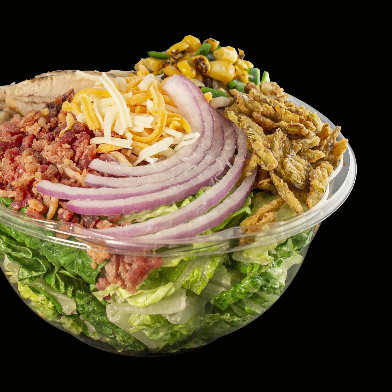 BBQ Chicken Ranch Full Salad