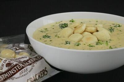 Bucket of Broccoli Soup