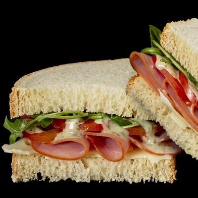 Ham & Swiss | Choose Salad or Soup