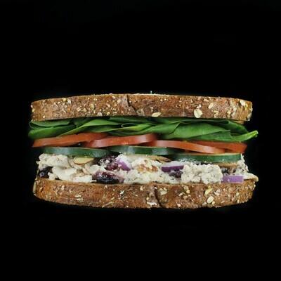 Chicken Feta Salad | Choose Salad or Soup