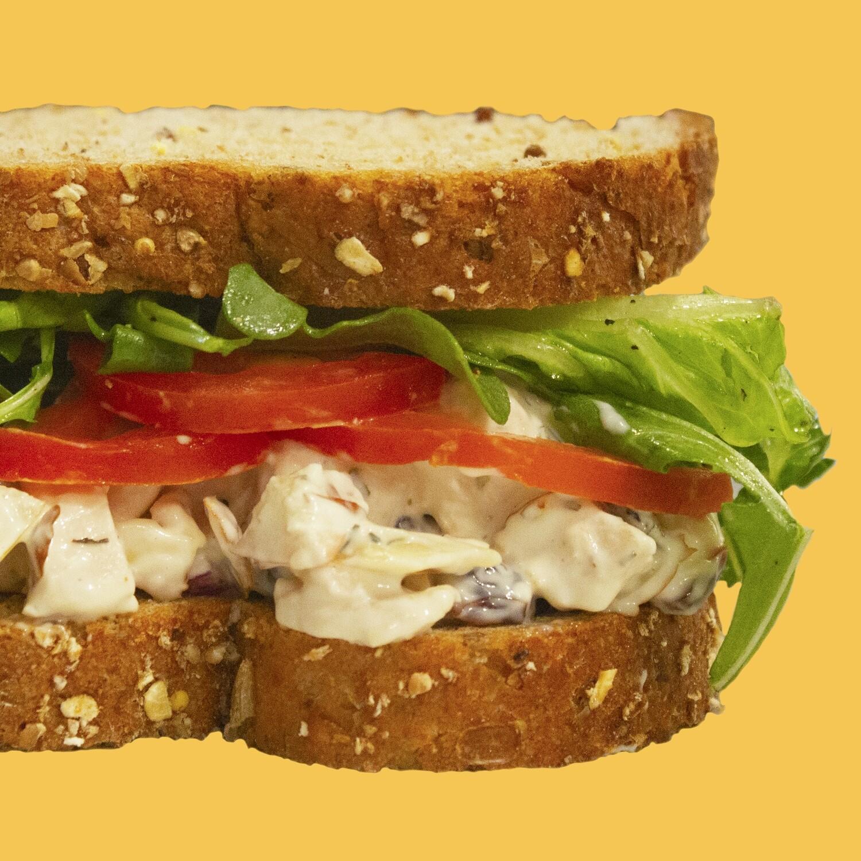 Vegan Fruit & Nut Salad Whole Sandwich