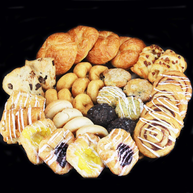 "3 Pack Mini Pastry ""Breakfast Box"""