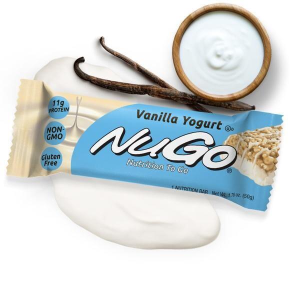Assorted NUGO Bars
